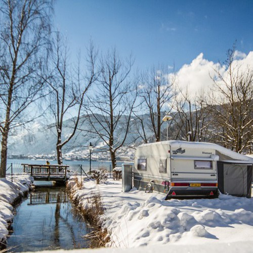 Camping in de winter